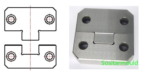 Side-lock-of-plastic-injection-mold