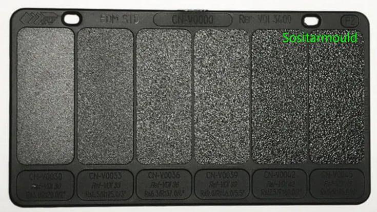 VDI 3400 plastic plaque