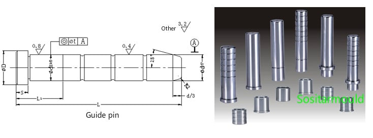 guide-pin-for-plastic-injection-mold