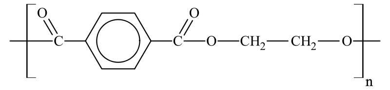 PET molecular formula