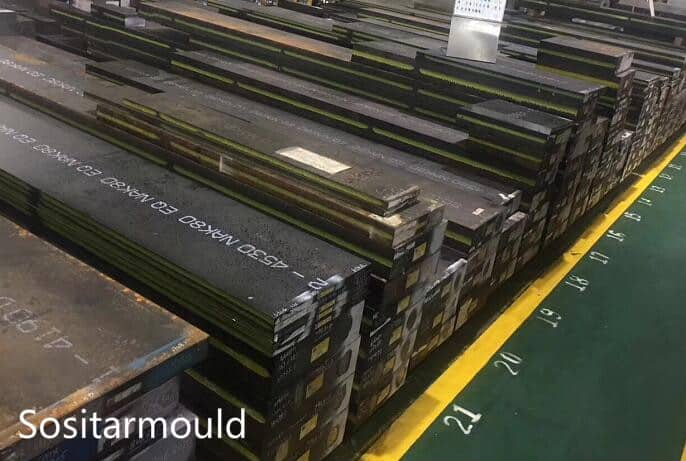 injection mold steels NAK80 S136