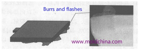 burrs-and-flahes-injection-molding-defects